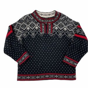 Hanna Andersson Fair Isle Quarter Zip Sweaters